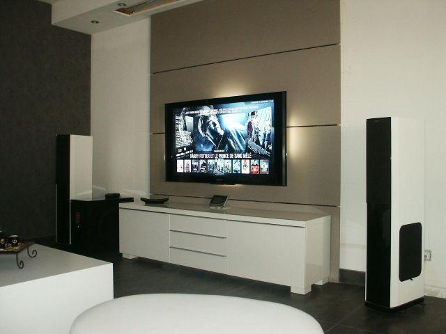 Accroche Tele Au Mur Prix - Tv Au Mur Cacher Les Cables - Nazpo.com